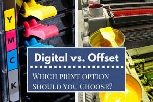 Diferența între tiparul digital și offset