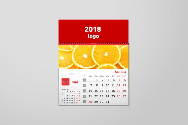 Calendar 300x300mm